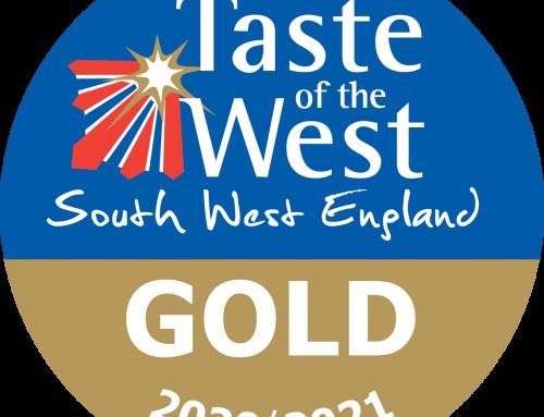 TASTE OF THE WEST GOLD AWARD!